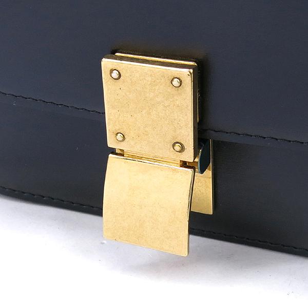 Celine(셀린느) 블랙 컬러 레더 미니 클래식 박스 숄더백 [강남본점] 이미지3 - 고이비토 중고명품