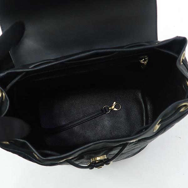 Chanel(샤넬) A57090 블랙 캐비어 스킨 COCO로고 Filigree(필리그리) 퀼팅 백팩 [강남본점] 이미지5 - 고이비토 중고명품