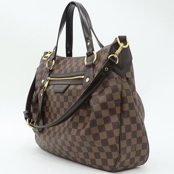 Louis Vuitton(루이비통) N41131 다미에 에벤 캔버스 에보라 MM 토트백 + 숄더스트랩 2WAY [잠실점] 이미지3 - 고이비토 중고명품