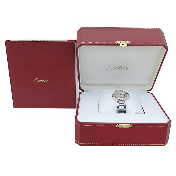 Cartier(까르띠에) W69010Z4 발롱블루 드 까르띠에 S사이즈 쿼츠 28MM 스틸 여성용 시계 [부산센텀본점]
