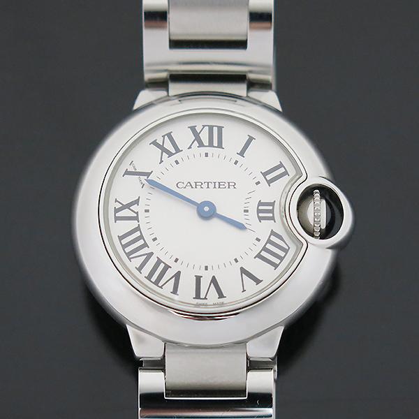 Cartier(까르띠에) W69010Z4 발롱블루 드 까르띠에 S사이즈 쿼츠 28MM 스틸 여성용 시계 [부산센텀본점] 이미지2 - 고이비토 중고명품