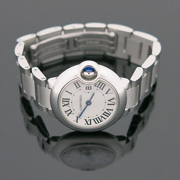 Cartier(까르띠에) W69010Z4 발롱블루 드 까르띠에 S사이즈 쿼츠 28MM 스틸 여성용 시계 [부산센텀본점] 이미지3 - 고이비토 중고명품