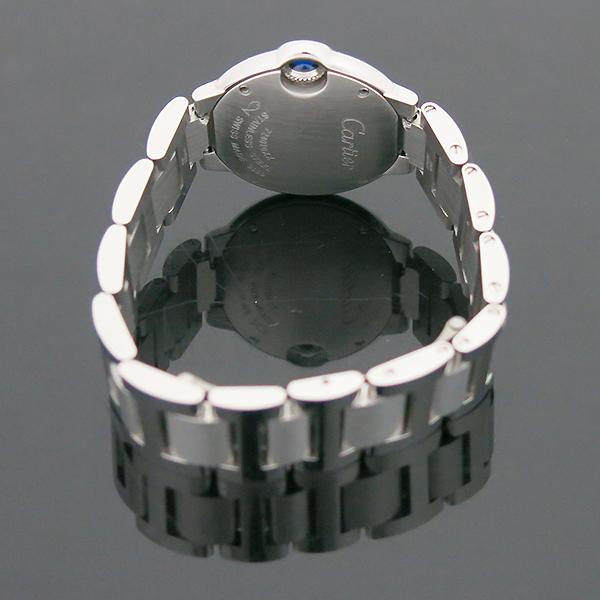 Cartier(까르띠에) W69010Z4 발롱블루 드 까르띠에 S사이즈 쿼츠 28MM 스틸 여성용 시계 [부산센텀본점] 이미지4 - 고이비토 중고명품