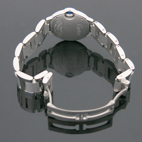 Cartier(까르띠에) W69010Z4 발롱블루 드 까르띠에 S사이즈 쿼츠 28MM 스틸 여성용 시계 [부산센텀본점] 이미지5 - 고이비토 중고명품