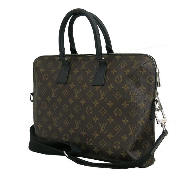 Louis Vuitton(루이비통) M40868 모노그램 마카사르 캔버스 주르 서류가방 + 숄더스트랩 2WAY [동대문점] 이미지2 - 고이비토 중고명품