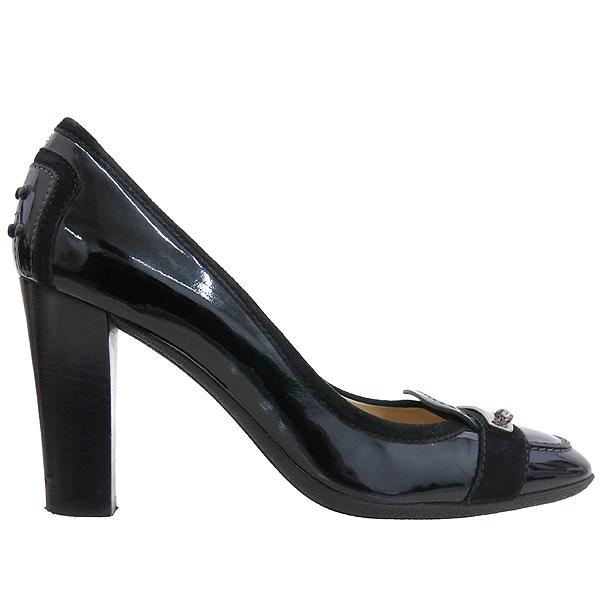 Tod's(토즈) 블랙 컬러 페이던트 은장 장식 구두 [강남본점] 이미지4 - 고이비토 중고명품
