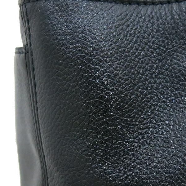 Chanel(샤넬) A15206Y01570 카프스킨 블랙 금장 COCO로고 서프 토트백 + 숄더스트랩 2WAY [부산센텀본점] 이미지6 - 고이비토 중고명품