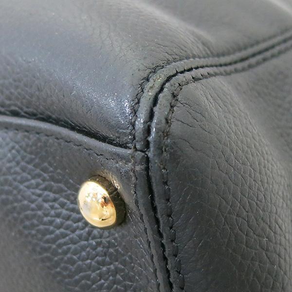 Chanel(샤넬) A15206Y01570 카프스킨 블랙 금장 COCO로고 서프 토트백 + 숄더스트랩 2WAY [부산센텀본점] 이미지7 - 고이비토 중고명품