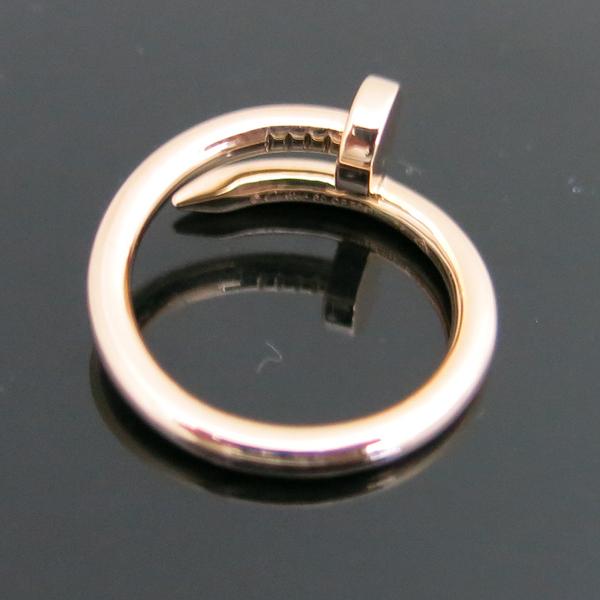 Cartier(까르띠에) B4092560 18K 핑크 골드 저스트 앵끌루 링 반지 - 20호 [동대문점]