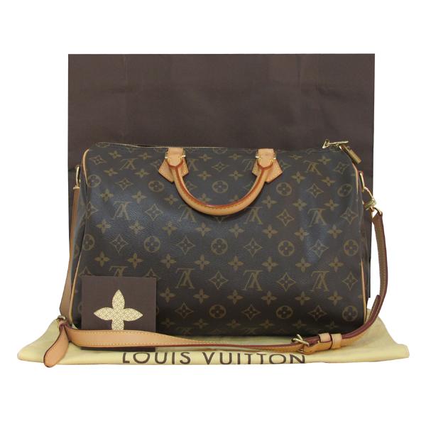 Louis Vuitton(루이비통) M40392 모노그램 캔버스 반둘리에 스피디 35 토트백+숄더스트랩 2WAY [대구반월당본점]