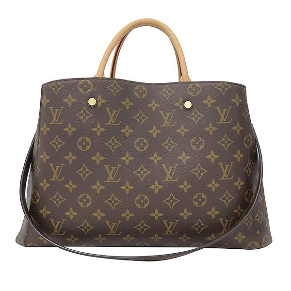 Louis Vuitton(루이비통) M41067 모노그램 캔버스 몽테뉴 GM 토트백 + 숄더스트랩 2WAY [부산서면롯데점]