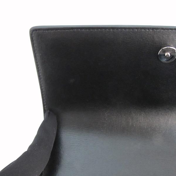 YSL(입생로랑) 442906 D420N SAC SUNSET 블랙 레더 선셋 M 사이즈 은장 체인 숄더백 [대구반월당본점] 이미지6 - 고이비토 중고명품