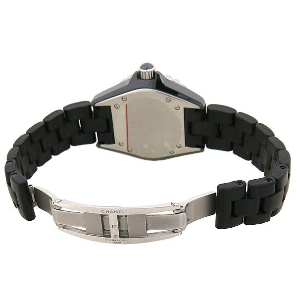 Chanel(샤넬) H0681 J12 블랙 세라믹 러버 밴드 33MM 여성용 시계 [강남본점] 이미지3 - 고이비토 중고명품