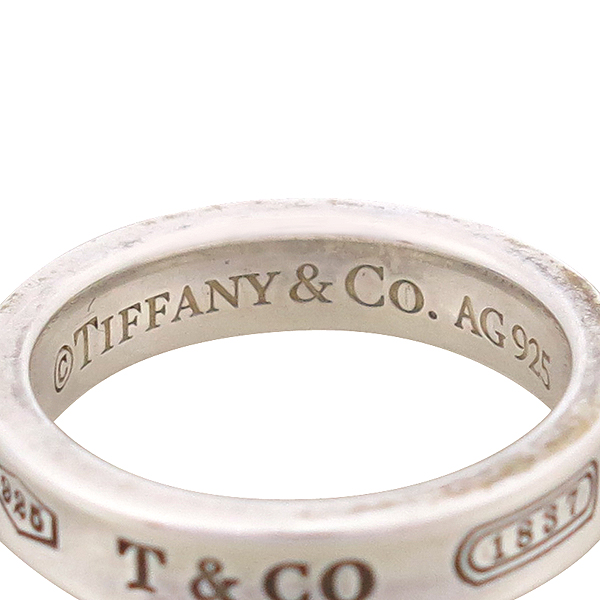Tiffany(티파니) 925(실버) 1837 라운드 반지 - 6호 [강남본점] 이미지3 - 고이비토 중고명품