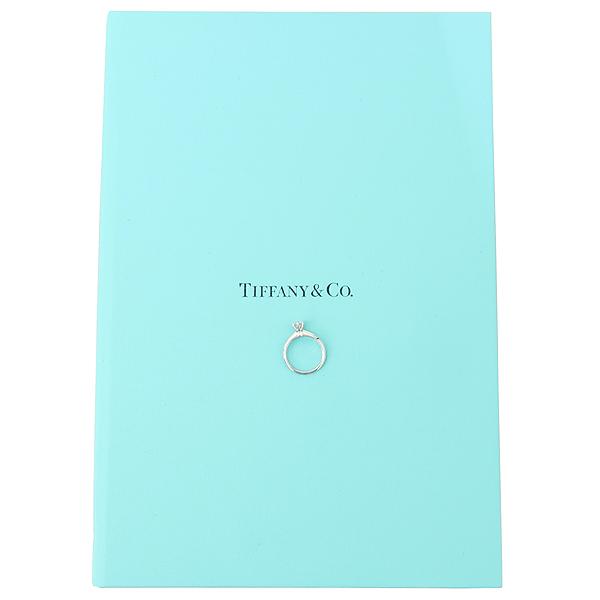 Tiffany(티파니) PT950(플래티늄) 0.36캐럿 다이아 VVS1 H컬러 웨딩 반지-7호 [강남본점]