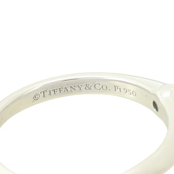 Tiffany(티파니) PT950(플래티늄) 0.36캐럿 다이아 VVS1 H컬러 웨딩 반지-7호 [강남본점] 이미지3 - 고이비토 중고명품