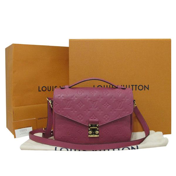 Louis Vuitton(루이비통) M43737 로즈 브뤼에르가 모노그램 앙프렝뜨 포쉐트 메티스 MM 토트백 + 숄더스트랩 2WAY [대구반월당본점]