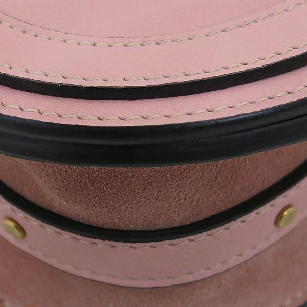 Chloe(끌로에) 핑크 컬러 카프 스킨 NILE(나일) 스몰 브레이슬릿 토트백 + 숄더스트랩 2WAY [부산센텀본점] 이미지7 - 고이비토 중고명품