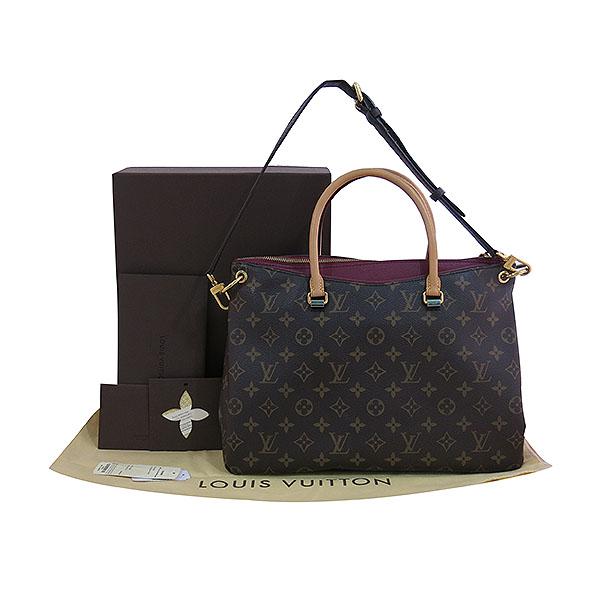 Louis Vuitton(루이비통) M40906 모노그램 캔버스 AURORE 팔라스 토트백 + 숄더 스트랩 [대구동성로점]