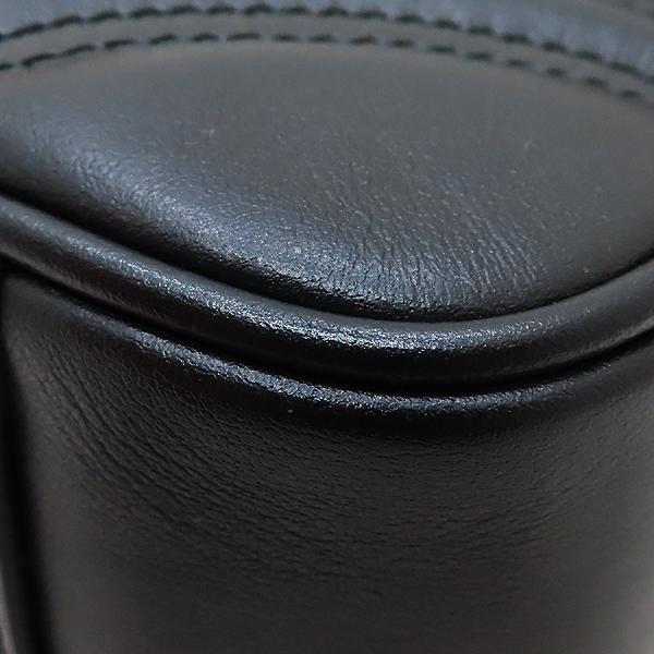 Gucci(구찌) 443497 블랙 레더 GG 마몬트 스몰 마틀라쎄 퀼팅 금장 체인 숄더백 [인천점] 이미지6 - 고이비토 중고명품