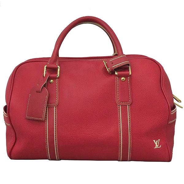 Louis Vuitton(루이비통) M95140 한정판 토바고 레드 레더 캐리올 토트백 [대구황금점]