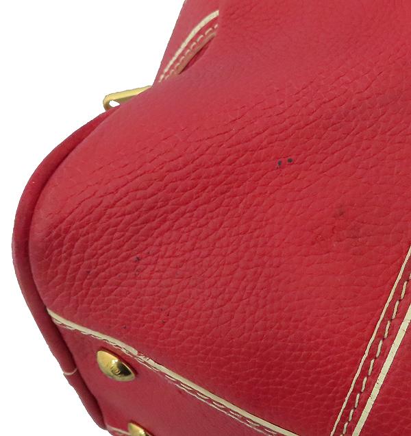 Louis Vuitton(루이비통) M95140 한정판 토바고 레드 레더 캐리올 토트백 [대구황금점] 이미지4 - 고이비토 중고명품