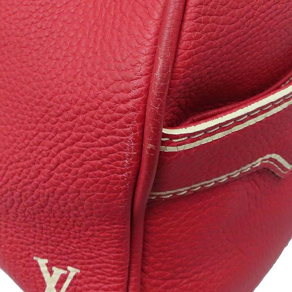 Louis Vuitton(루이비통) M95140 한정판 토바고 레드 레더 캐리올 토트백 [대구황금점] 이미지5 - 고이비토 중고명품