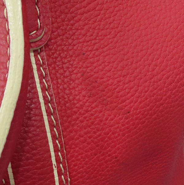 Louis Vuitton(루이비통) M95140 한정판 토바고 레드 레더 캐리올 토트백 [대구황금점] 이미지6 - 고이비토 중고명품