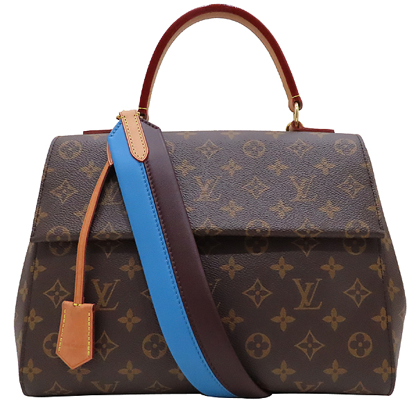Louis Vuitton(루이비통) M42735 모노그램 캔버스 클루니 MM 블루 글래셜 토트백+숄더 스트랩 [인천점] 이미지2 - 고이비토 중고명품