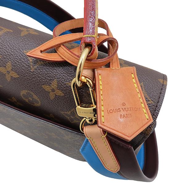Louis Vuitton(루이비통) M42735 모노그램 캔버스 클루니 MM 블루 글래셜 토트백+숄더 스트랩 [인천점] 이미지4 - 고이비토 중고명품