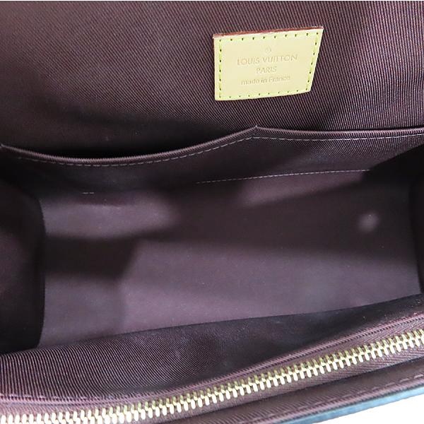 Louis Vuitton(루이비통) M42735 모노그램 캔버스 클루니 MM 블루 글래셜 토트백+숄더 스트랩 [인천점] 이미지7 - 고이비토 중고명품