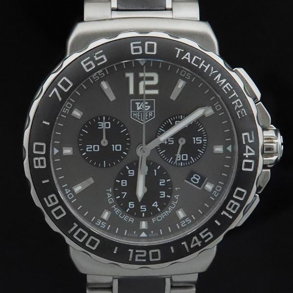 Tag Heuer(태그호이어) CAU1115 BA0869 FORMULA 1 포뮬러 원 크로노그래프 스틸 남성용 시계 [인천점] 이미지2 - 고이비토 중고명품