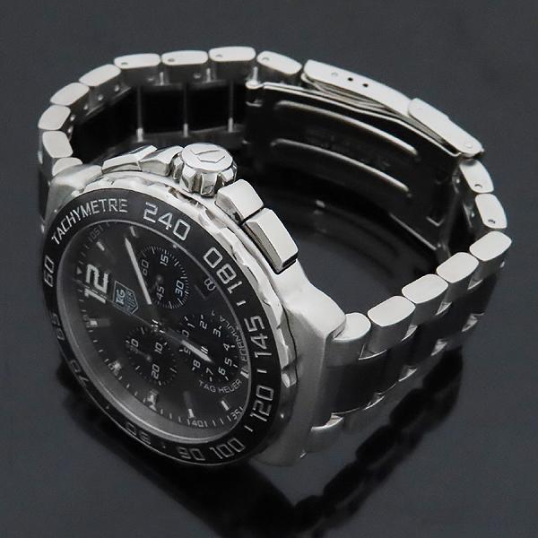 Tag Heuer(태그호이어) CAU1115 BA0869 FORMULA 1 포뮬러 원 크로노그래프 스틸 남성용 시계 [인천점] 이미지3 - 고이비토 중고명품