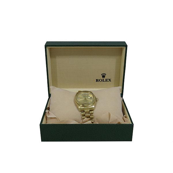 Rolex(로렉스) 18038 18K(750) 금통 빈티지 에프터 다이아 DAY-DATE(데이데이트) 남성용 시계 [대구동성로점]