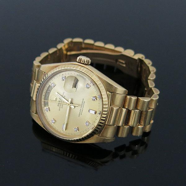 Rolex(로렉스) 18038 18K(750) 금통 빈티지 에프터 다이아 DAY-DATE(데이데이트) 남성용 시계 [대구동성로점] 이미지3 - 고이비토 중고명품