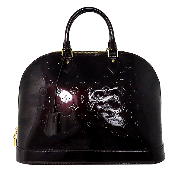 Louis Vuitton(루이비통) M93595 모노그램 베르니 아마랑뜨 알마 GM 토트백 [대전본점] 이미지2 - 고이비토 중고명품
