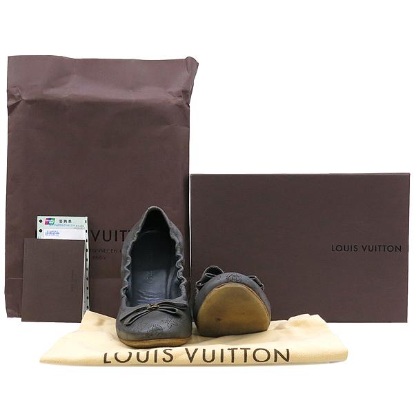 Louis Vuitton(루이비통) 835990 마히나 래더 리본 장식 여성용 플랫 슈즈 [강남본점]