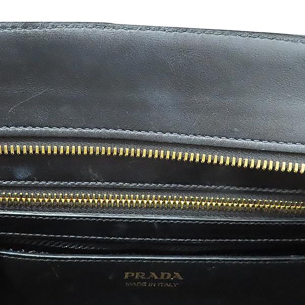 Prada(프라다) 1BA046 블랙 사피아노 에스플러네이드 토트백 + 숄더 스트랩 [부산서면롯데점] 이미지5 - 고이비토 중고명품