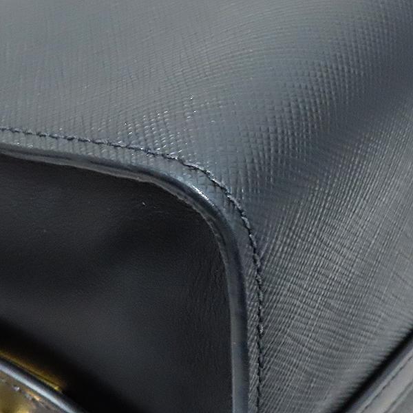 Prada(프라다) 1BA046 블랙 사피아노 에스플러네이드 토트백 + 숄더 스트랩 [부산서면롯데점] 이미지6 - 고이비토 중고명품
