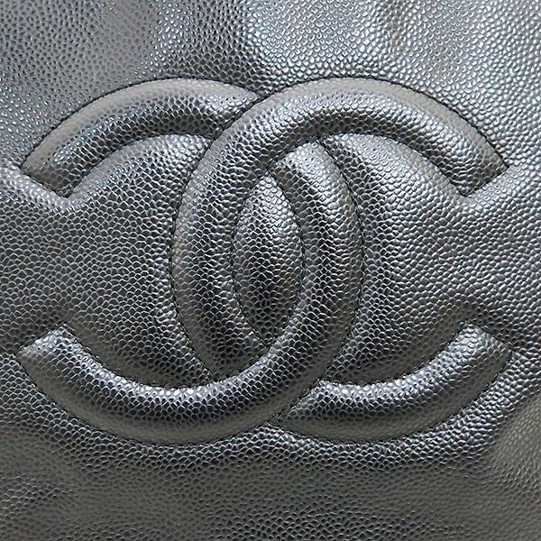 Chanel(샤넬) A66814 타임리스 CC 포르토벨로 캐비어 블랙 퀼팅 레더 은장 체인 2WAY [부산센텀본점] 이미지4 - 고이비토 중고명품