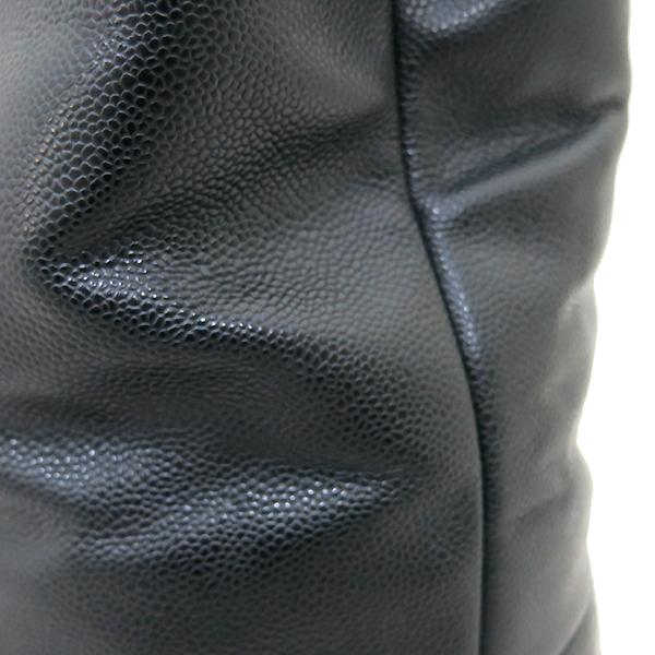 Chanel(샤넬) A66814 타임리스 CC 포르토벨로 캐비어 블랙 퀼팅 레더 은장 체인 2WAY [부산센텀본점] 이미지5 - 고이비토 중고명품