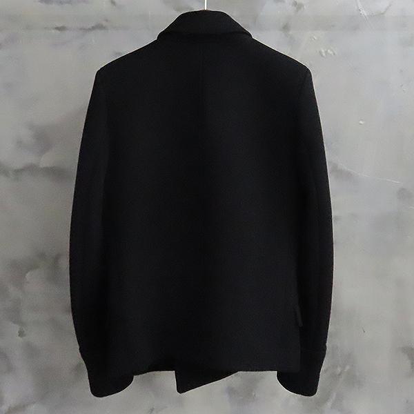 Balmain(발망) W3HT269C289 100% 울 블랙 남성용 더블 코트 [대전본점] 이미지2 - 고이비토 중고명품