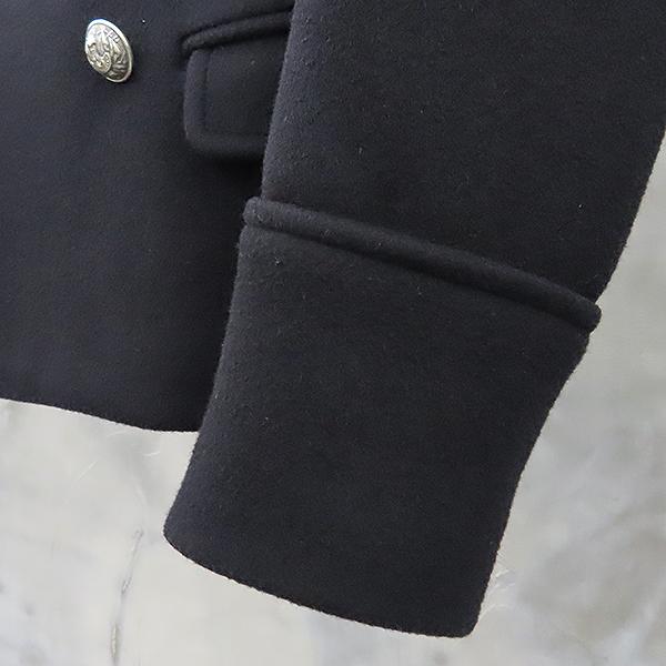 Balmain(발망) W3HT269C289 100% 울 블랙 남성용 더블 코트 [대전본점] 이미지3 - 고이비토 중고명품