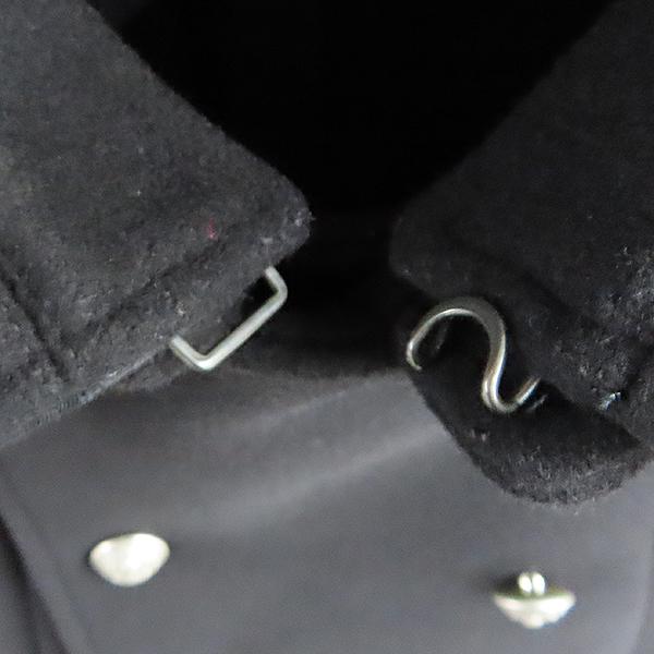 Balmain(발망) W3HT269C289 100% 울 블랙 남성용 더블 코트 [대전본점] 이미지4 - 고이비토 중고명품