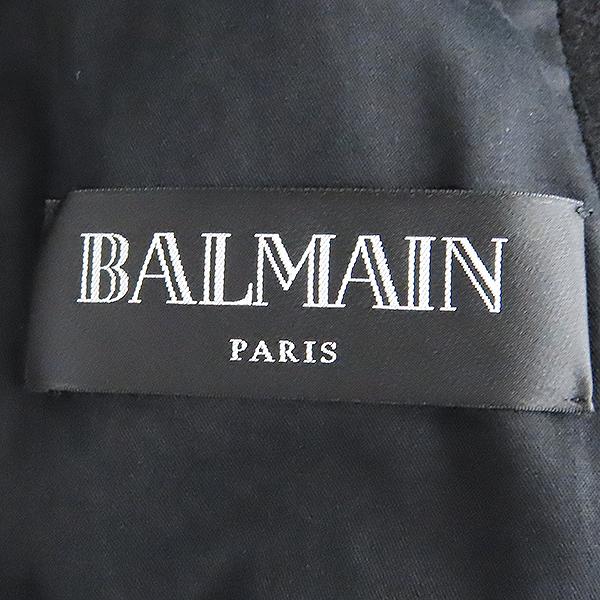Balmain(발망) W3HT269C289 100% 울 블랙 남성용 더블 코트 [대전본점] 이미지6 - 고이비토 중고명품