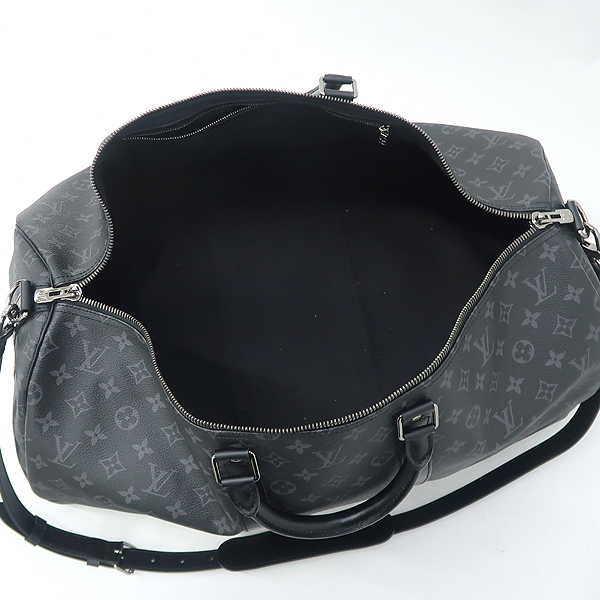 Louis Vuitton(루이비통) M40605 모노그램 이클립스 캔버스 키폴 55 여행용 토트백+숄더스트랩 [강남본점] 이미지4 - 고이비토 중고명품
