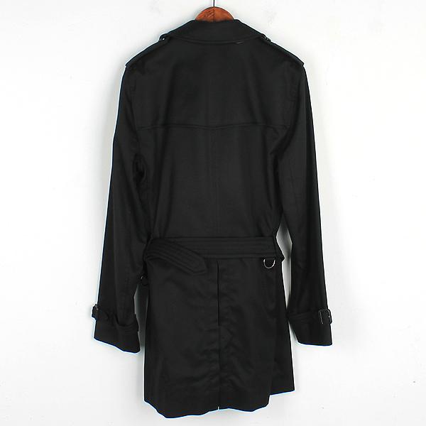 Burberry(버버리) 블랙 컬러 남성용 트렌치 코트 (벨트 SET) [강남본점] 이미지3 - 고이비토 중고명품
