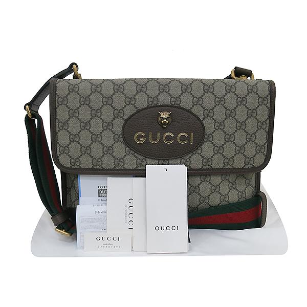 Gucci(구찌) 495654 네오 빈티지 GG 수프림 메신저 백 [부산센텀본점]
