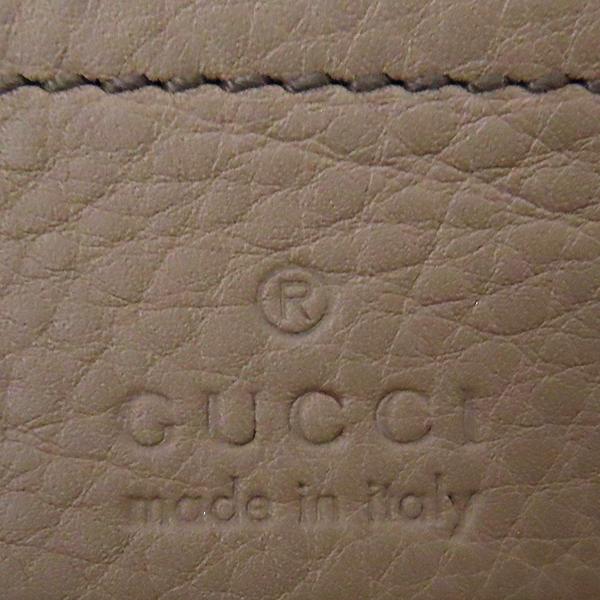 Gucci(구찌) 336752 베이비핑크 레더 SOHO 소호 인터로킹 스티치 골드 메탈 체인 크로스백 [대전본점] 이미지6 - 고이비토 중고명품