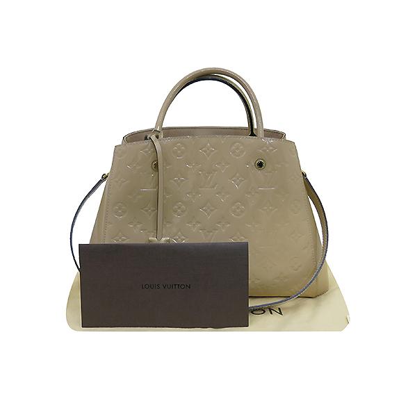 Louis Vuitton(루이비통) M50169 모노그램 베르니 베이지 몽테뉴 MM 토트백 + 숄더스트랩 2WAY